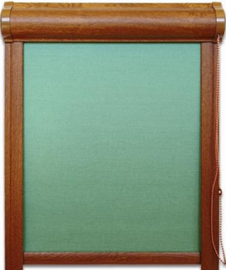 rulouri textile cu caseta si ghidaje laterale pentru ferestre verticale