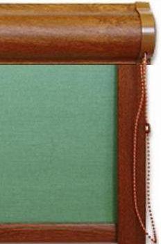 actionarea cu lantisor a rulourilor textile cu caseta si ghidaje laterale