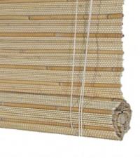 jaluzea din bambus cu ridicare prin rulare de jos in sus